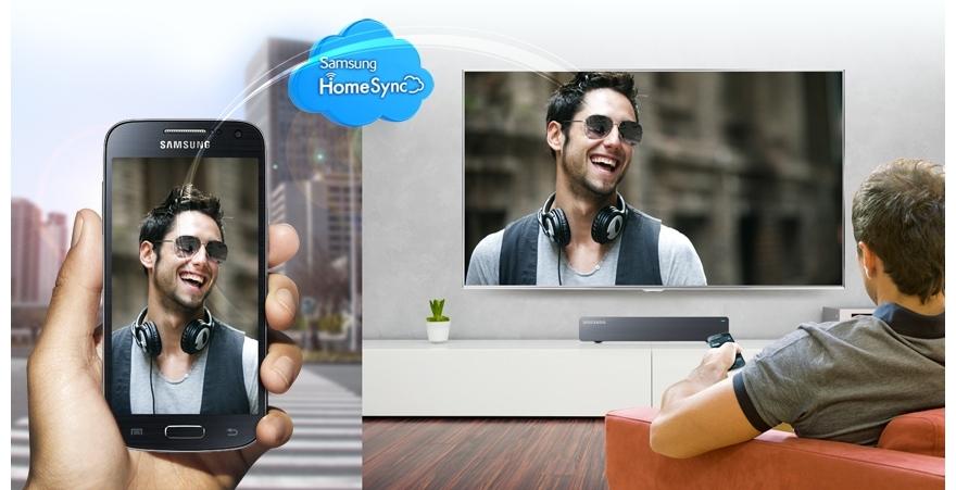 HomeSync* & Samsung Link: Sync immediately, share easily