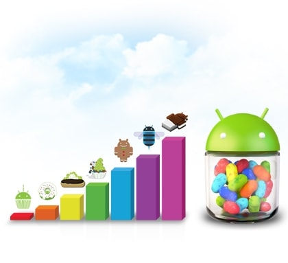 Android™ 4.1 (Jelly Bean) platform