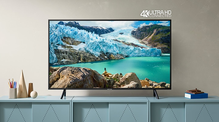Discover striking picture quality with our RU7020 4K TV