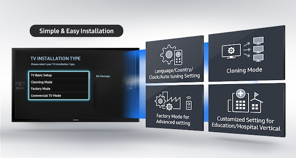 Enjoy More Efficient Installation through Improved Plug-and-Play Capabilities
