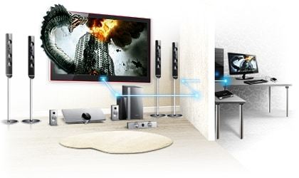 From your PC to Flat Screen.