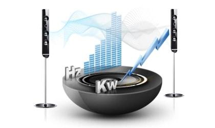 Intelligent power boosts audio performance.