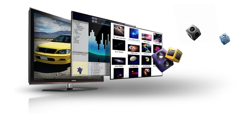 Whatever your content format, transferring and playing is easy