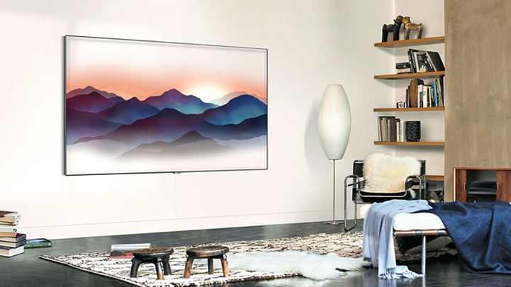 Blend your TV into your home