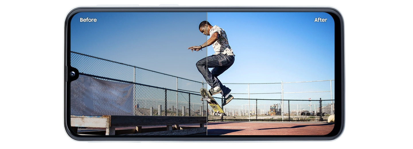 Optimise your photos with 19 modes