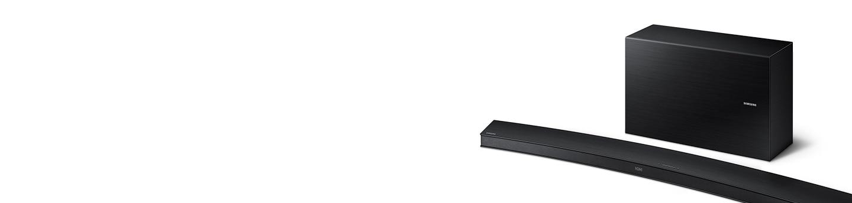 "Samsung Wireless Soundbars - 65"" Curved Wireless Bluetooth Smart Soundbar"