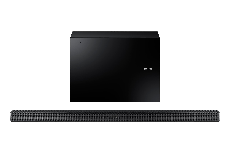 HW-J550 Wireless Soundbar with Wireless Subwoofer (Black)