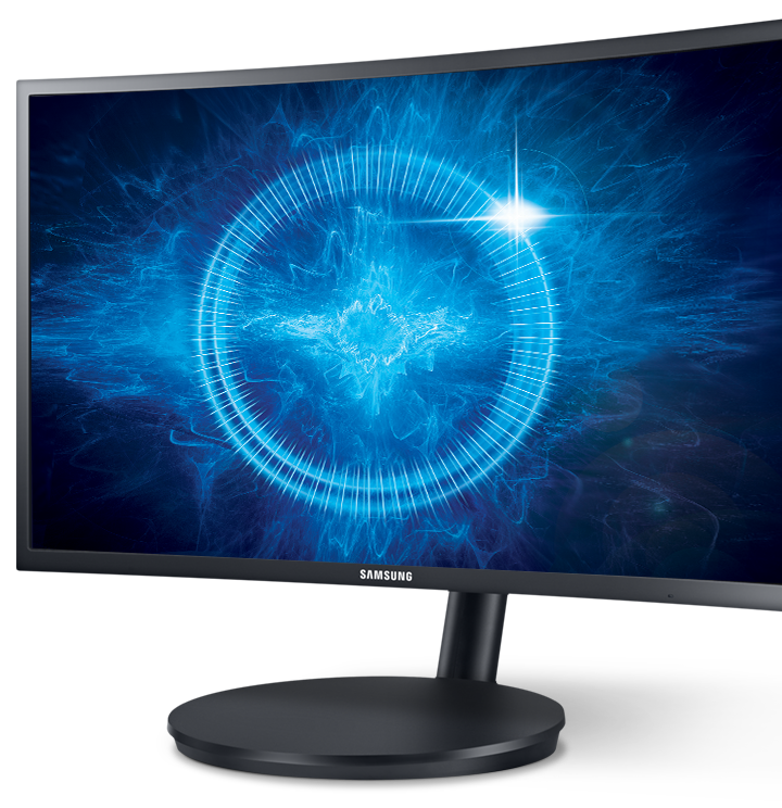 "Samsung Curved Gaming Monitors - 24"" 144Hz Professional Gaming Monitor"