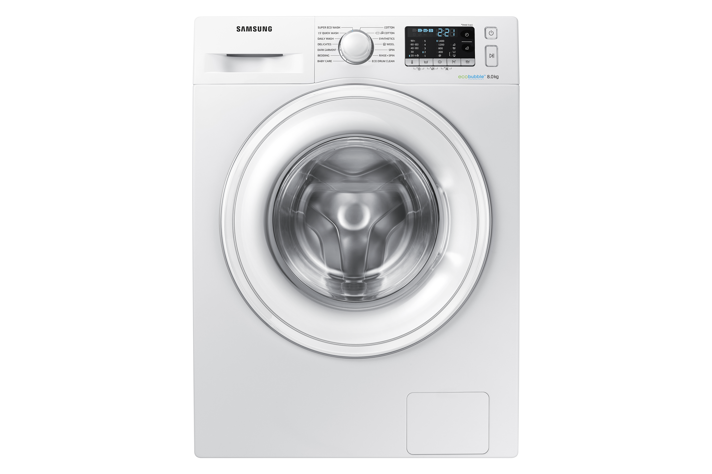 WW5000 Washing Machine with ecobubble™, 8kg