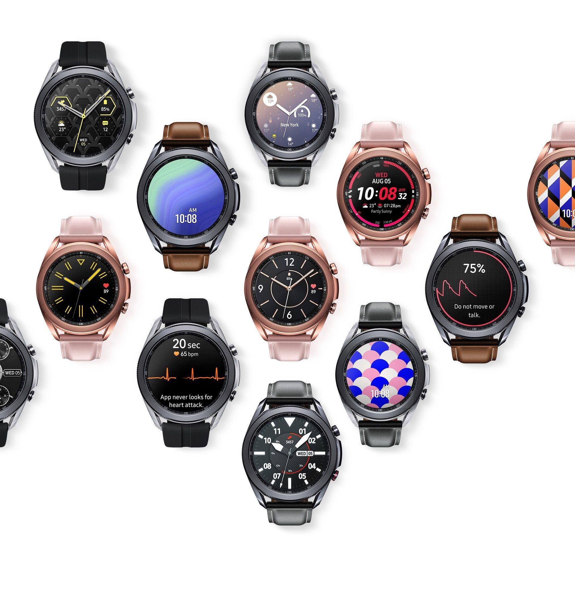Samsung Galaxy Watch3 | Health & Fitness Smartwatch | Samsung IE