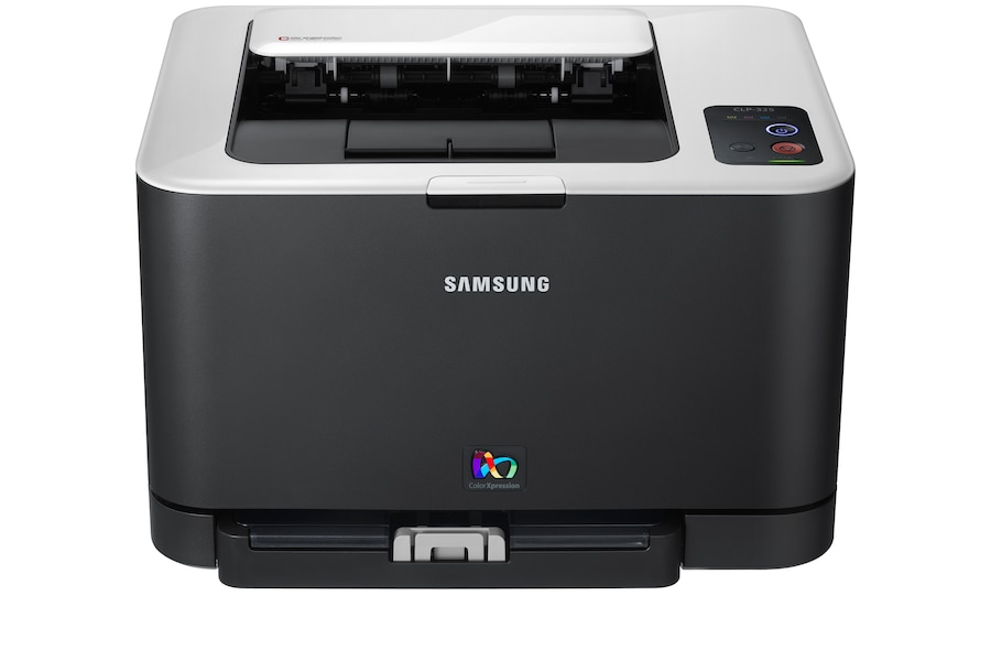 CLP-325W  Colour Laser Printer (16 / 4 ppm) 325W Front