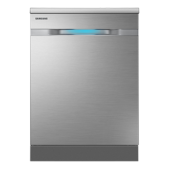 DW60H9950FS WaterWall™ Dishwasher Front Silver