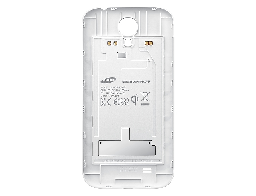 best service bc13e f323a Galaxy S4 Wireless Charging Cover (White) - Samsung Ireland Accessories