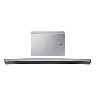 HW-J7501 55 Curved Wireless Soundbar (Silver)