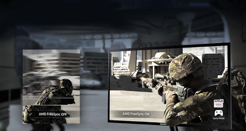 חוויית משחק נטולת הפרעות המתקבלת בזכות טכנולוגיית AMD FreeSync