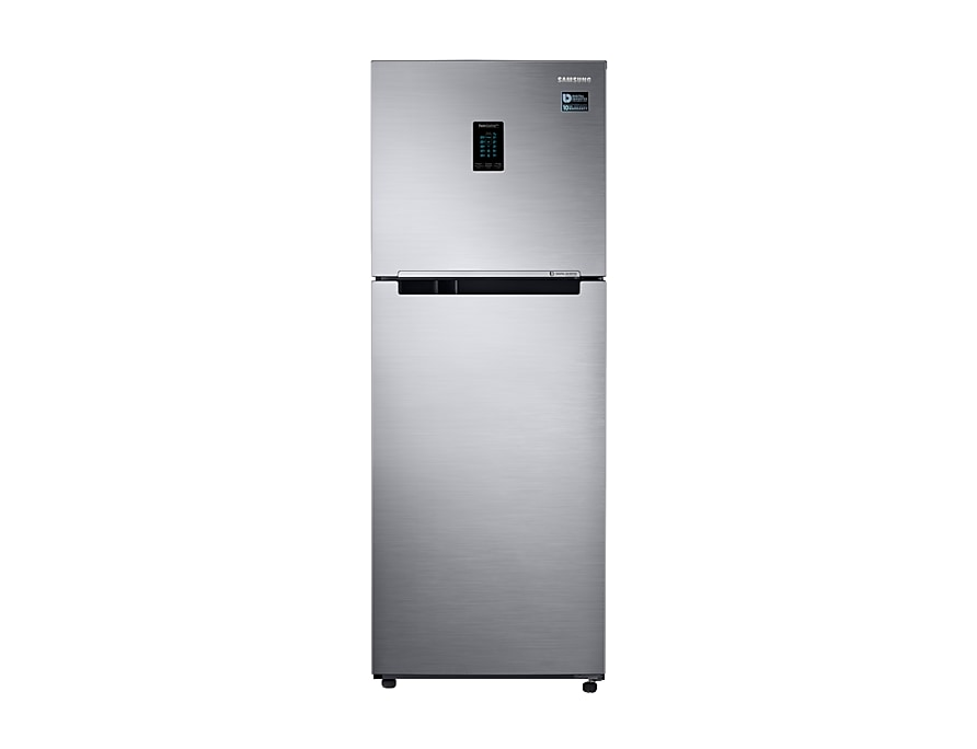 324 L Double Door 3 Star Convertible Refrigerator (RT34M5538S8/HL, Elegant Inox)