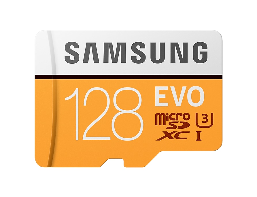 Best 128 GB Micro SD card with EVO Plus technology