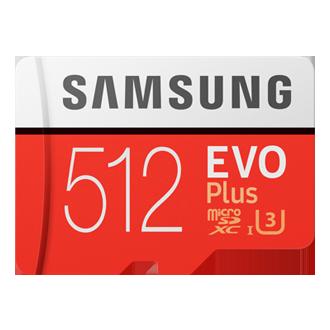 EVO Plus microSD Card 100 MB/s (SD Adapter)