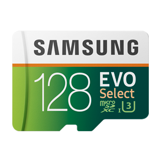 EVO Select microSD Card 100MB/s (SD adapter)