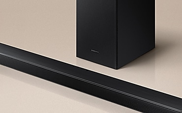 T550 Soundbar and subwoofer a