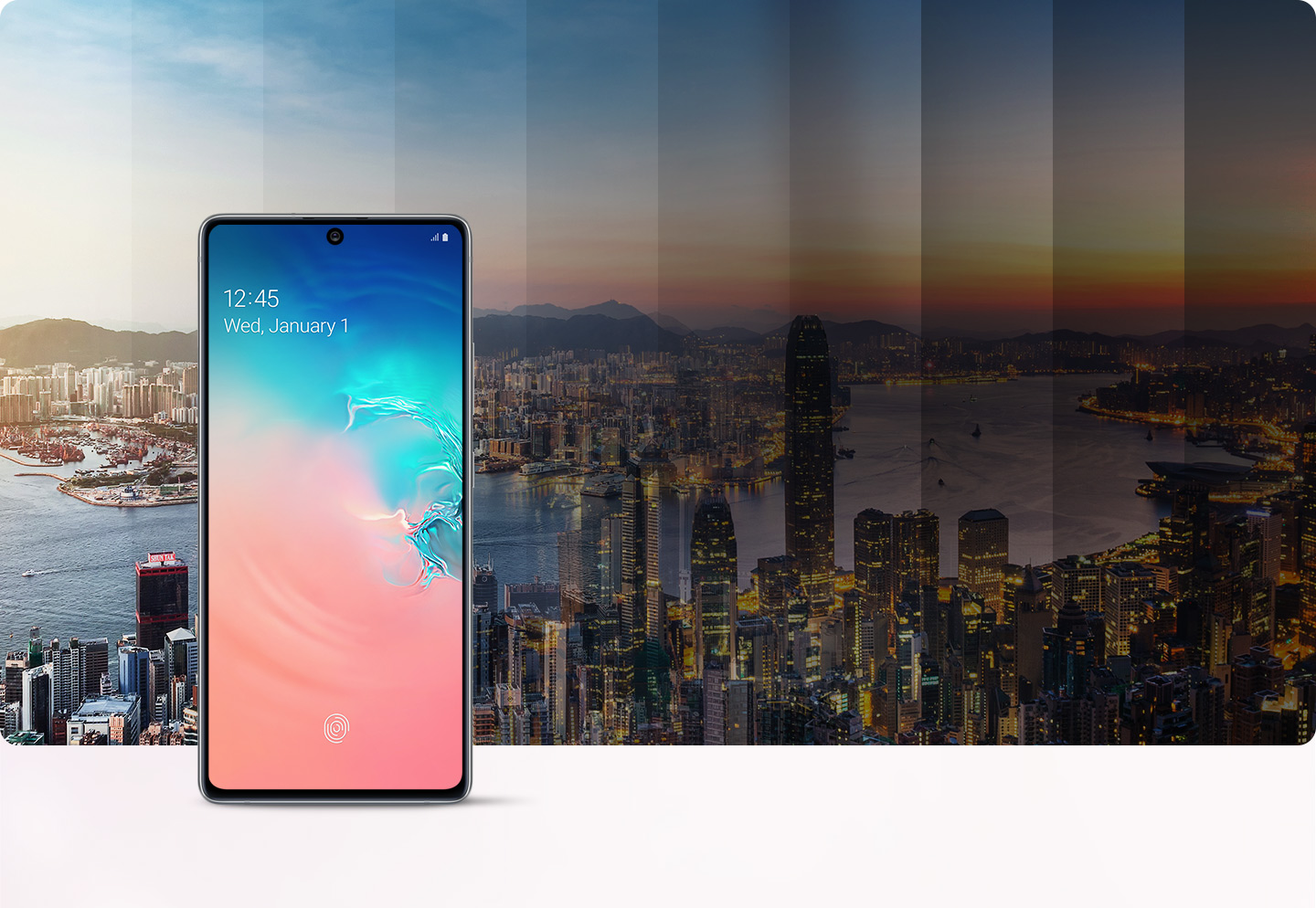 Galaxy S10 Lite - 4,500mAh battery - power to last 2-day