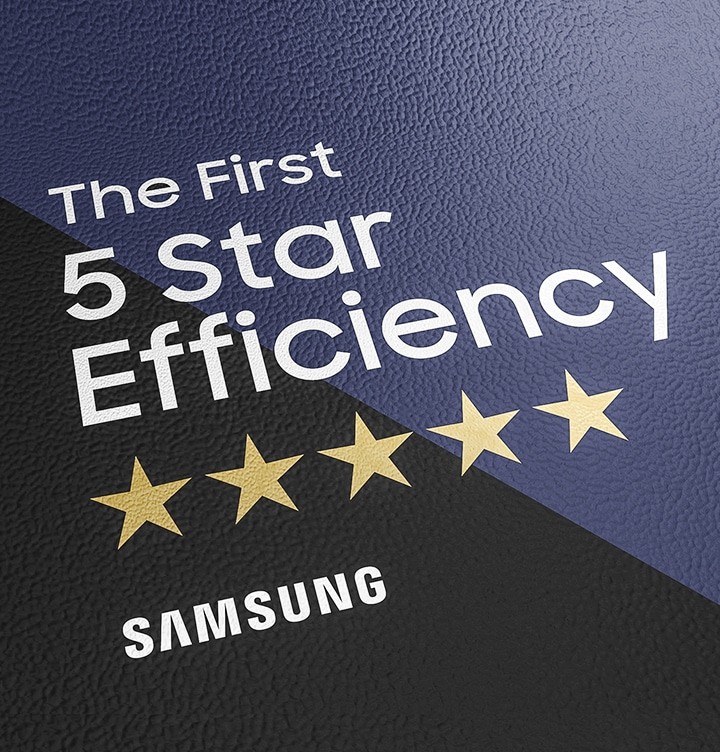 5 Star energy efficiency