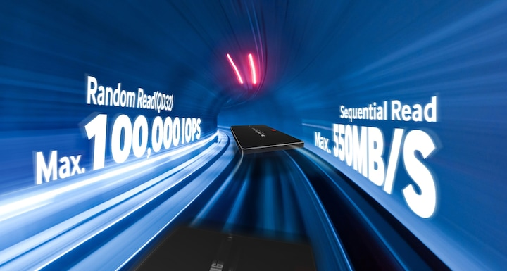 Boost performance with an industry-leading 3D V-NAND SSD