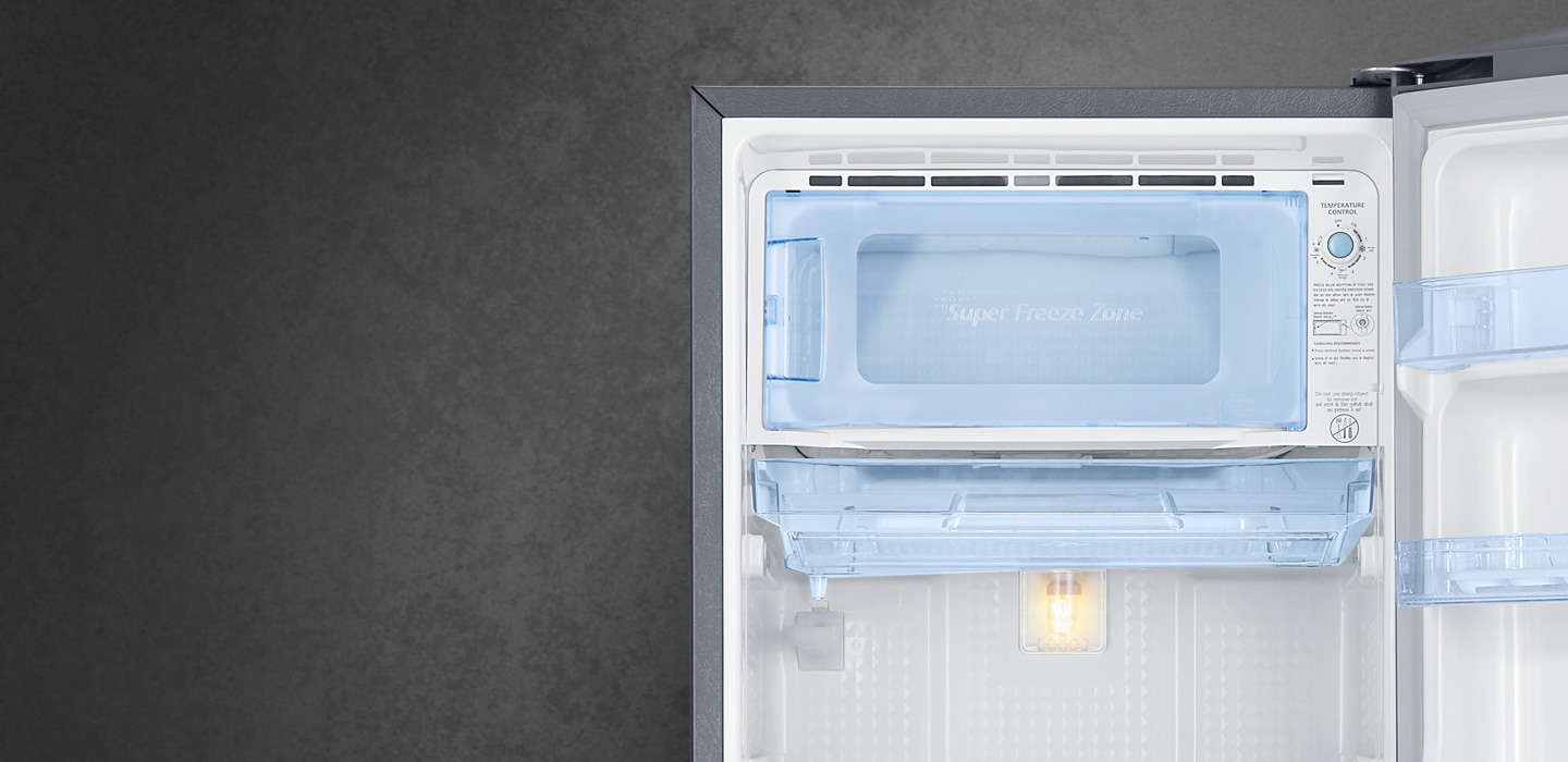 One Door Refrigerator with Clear View Lamp