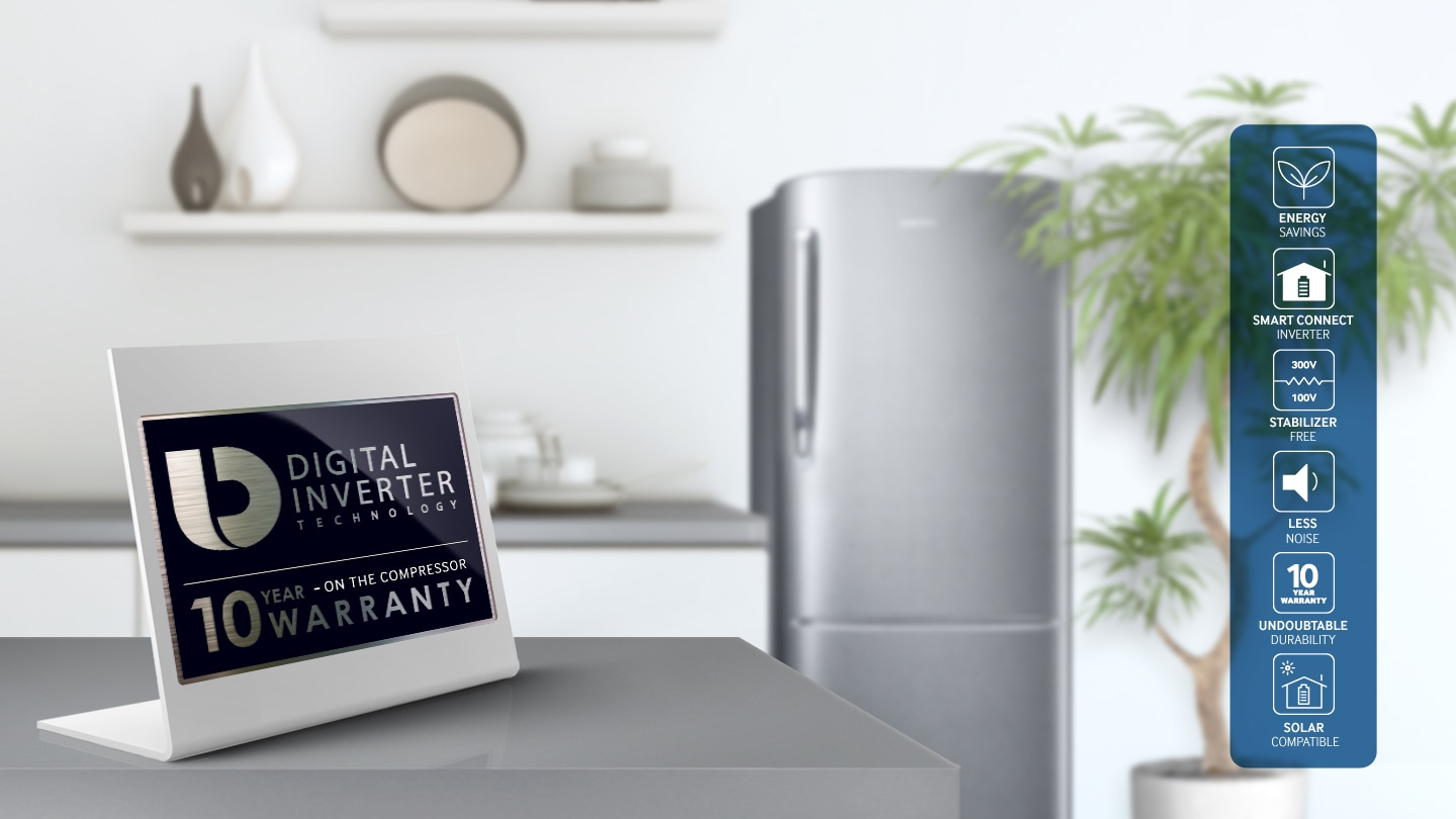 One Door Refrigerator with Advanced DIT Technology