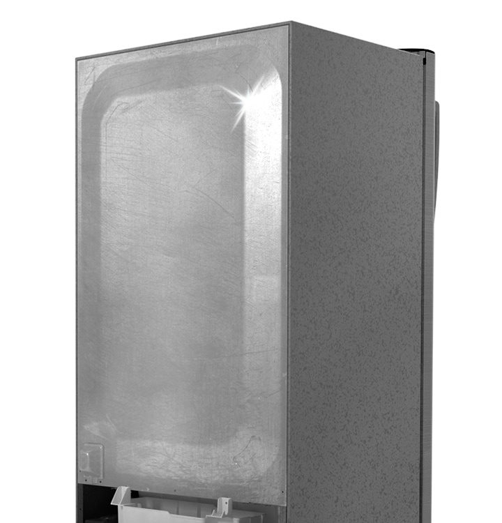 1 door Refrigerators with Safe Clean Back
