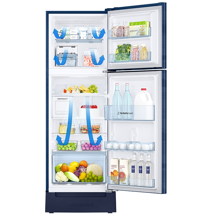 Samsung Top Mount Refrigerator - All Around Cooling