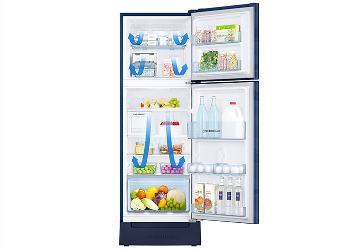 Samsung Double Door Fridge - All around cooling (Fresh Food always)