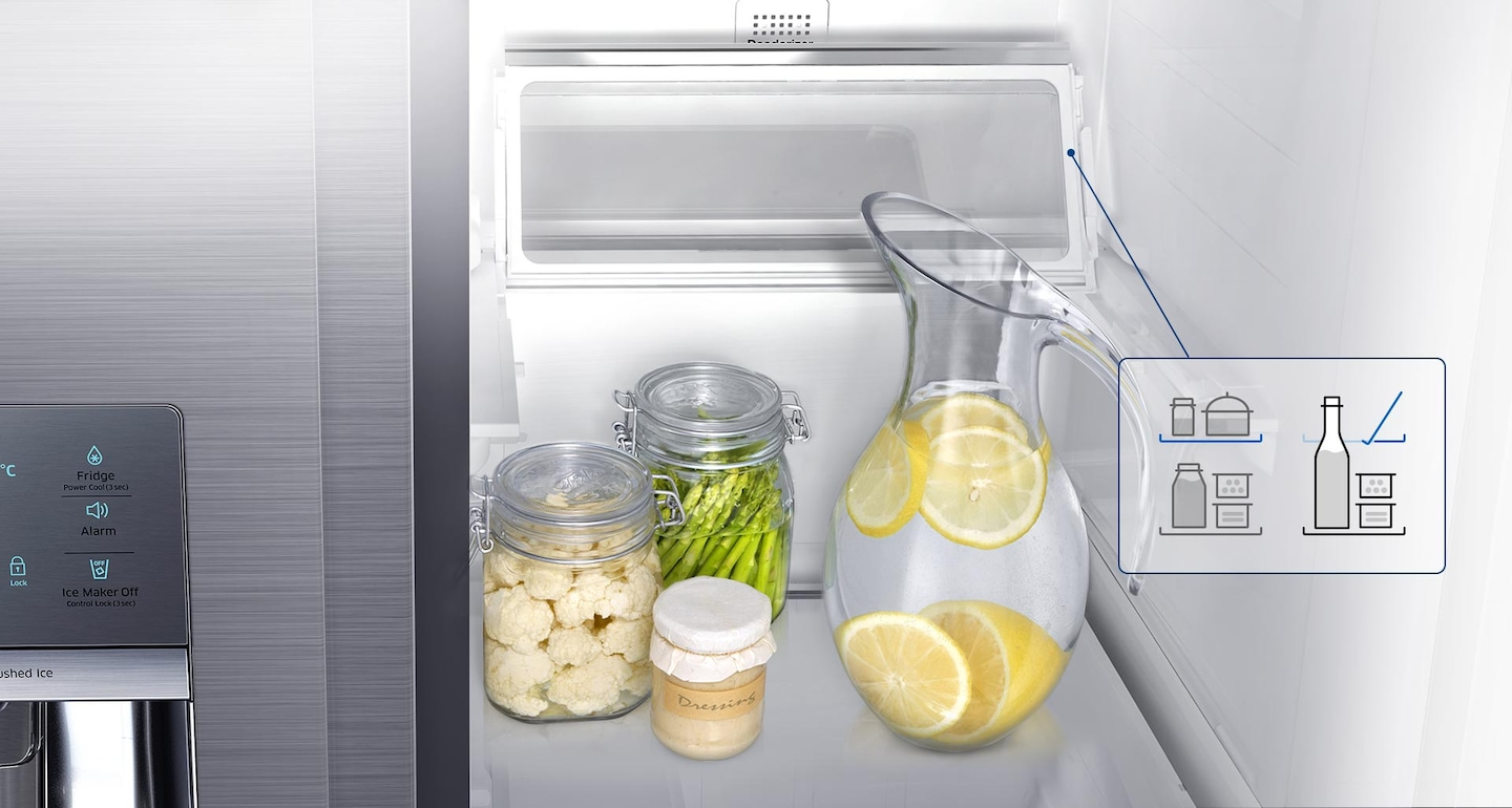 Refrigerators with Extra storage