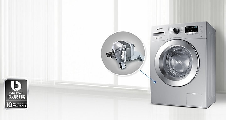 Samsung Front Load Washing Machine with Digital Inverter Motor