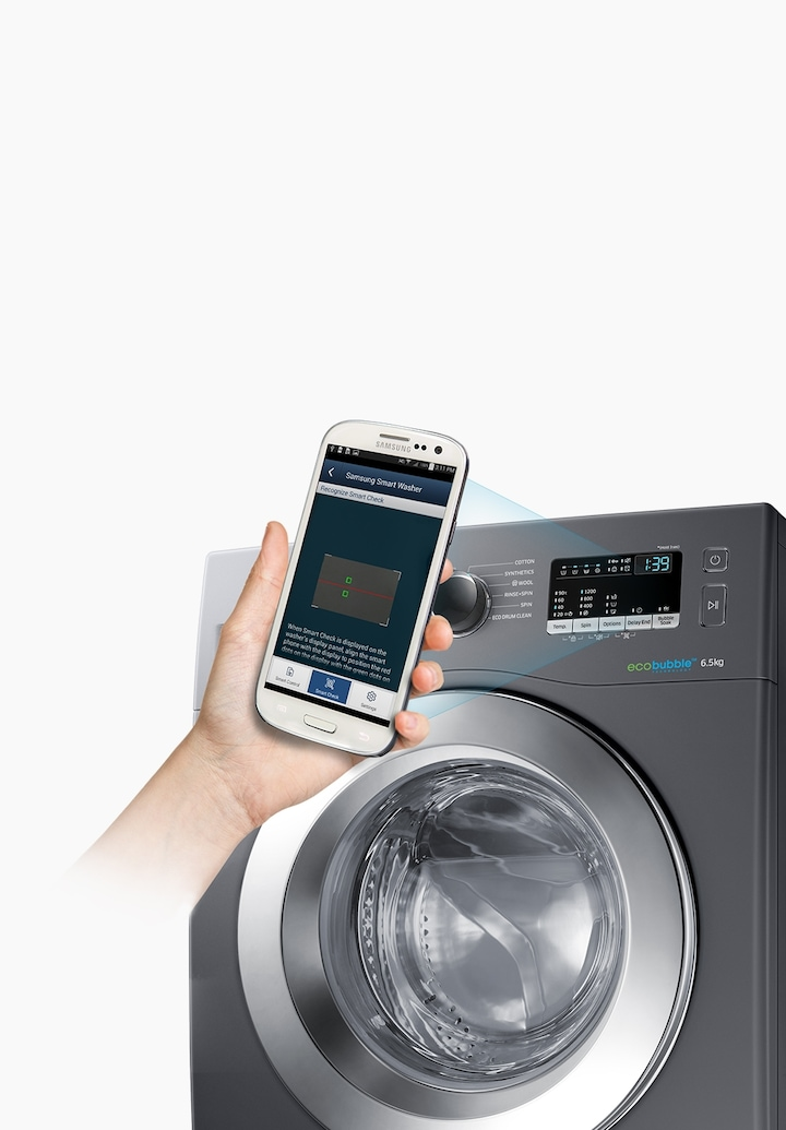 Samsung Fully Automatic Front Load Washing Machine Features