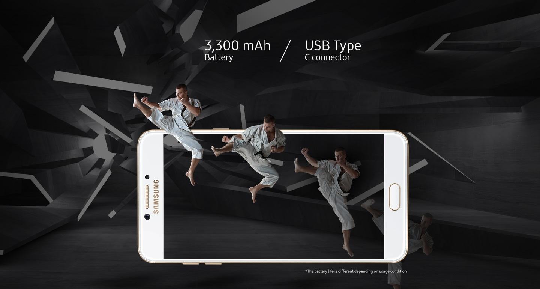 Samsung c7 pro battery