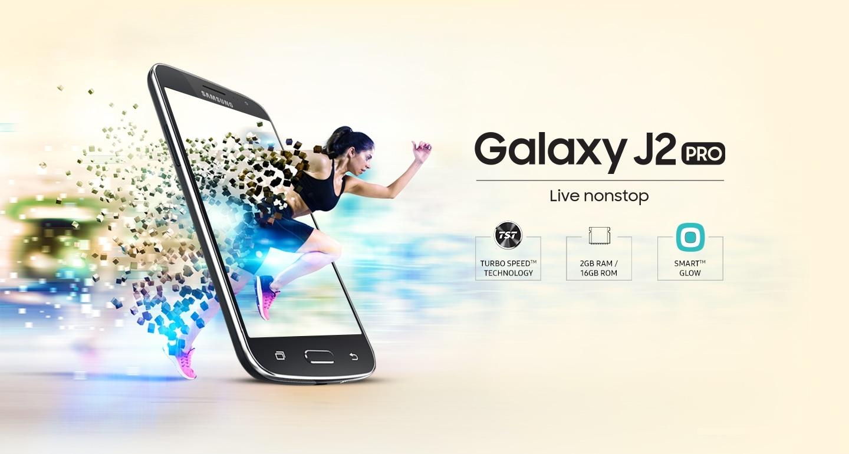 Samsung Galaxy J2 Pro - Live Nonstop