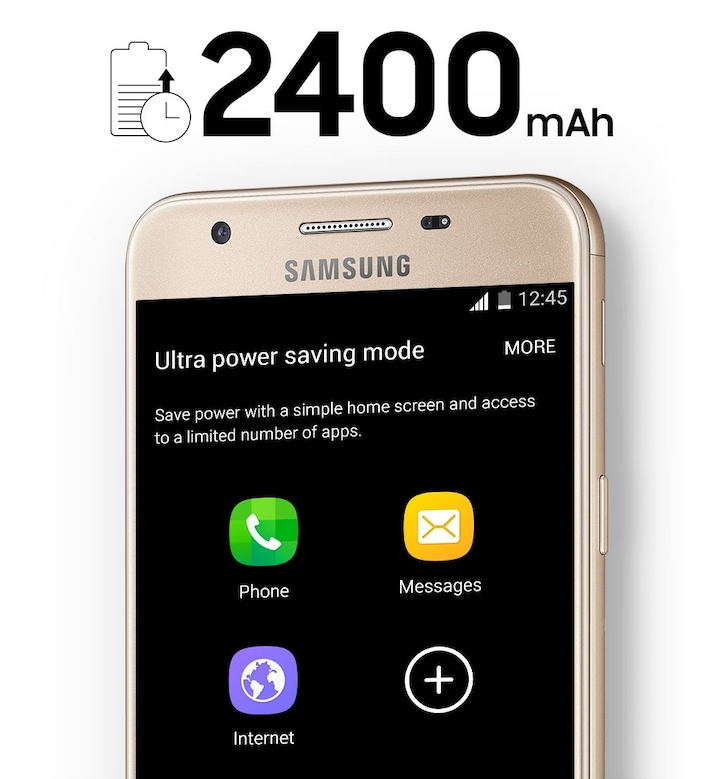Tech Specs - Samsung Galaxy J5 Prime 2400 mAh Battery