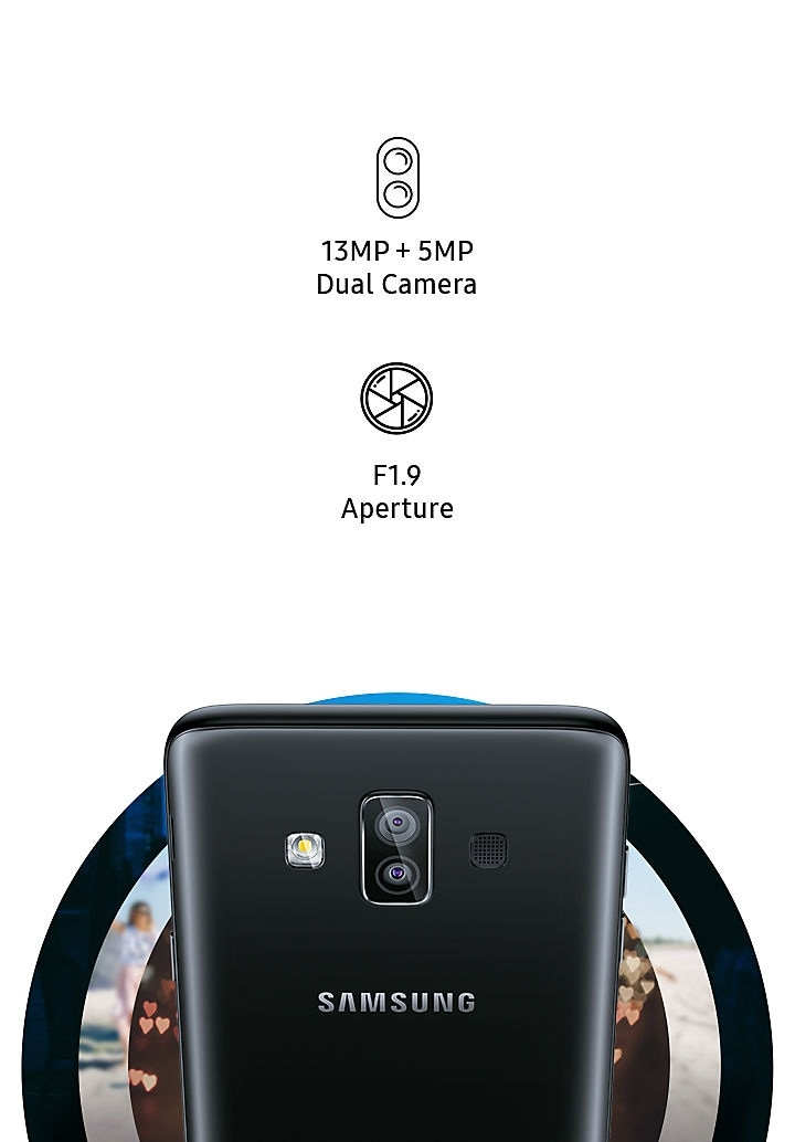 Dual Camera - 13MP and 5MP