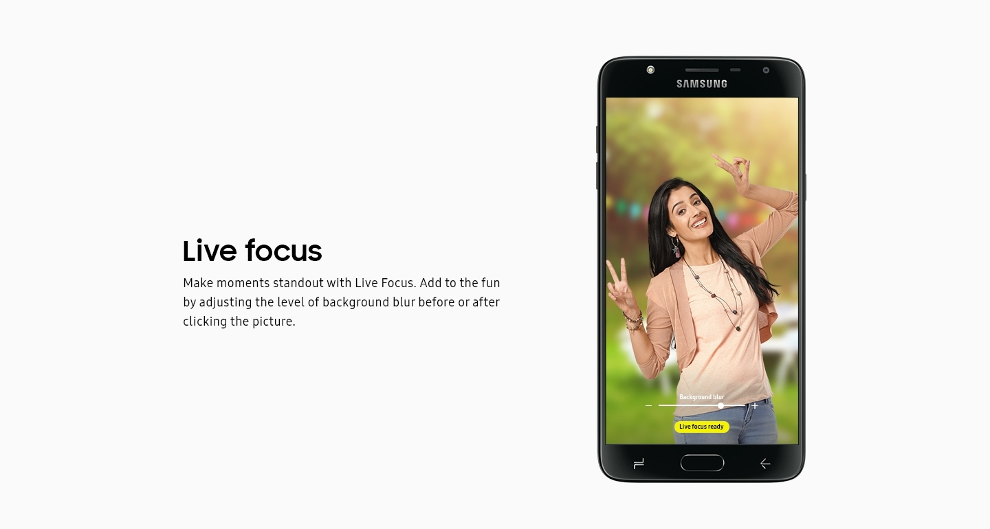 Galaxy J7 Duo - Live Focus