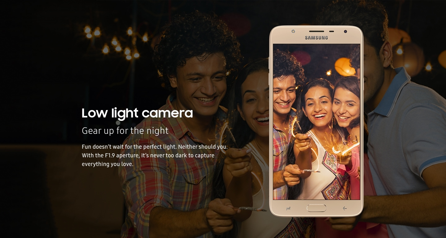 Galaxy J7 Duo - Low Light Camera