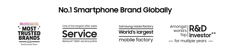 No. 1 Smartphone Brand Globally
