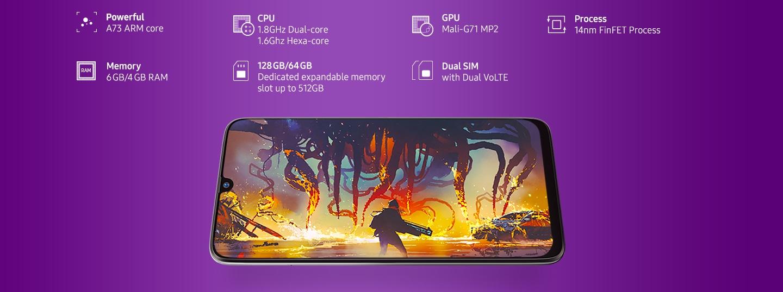 Galaxy M30 (6GB RAM)-I'M BATTLE READY