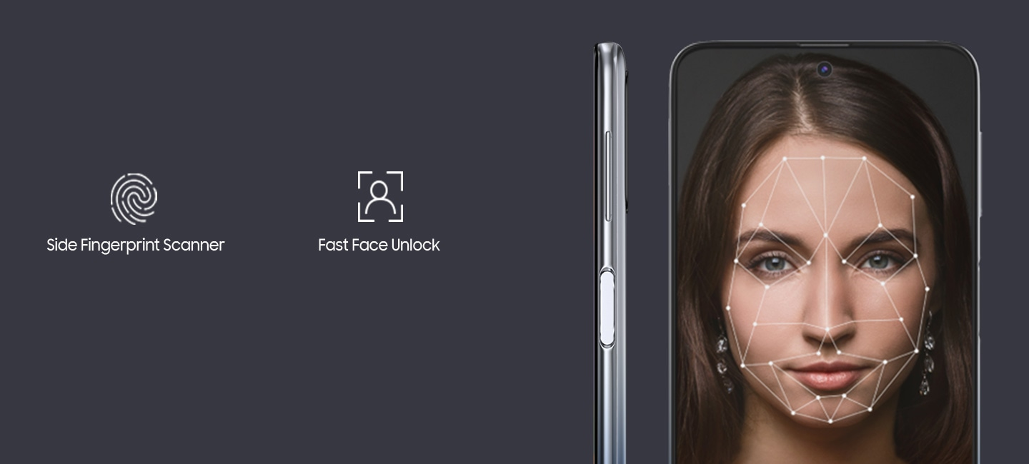 Now unlock your phone instantly with your face or fingerprint