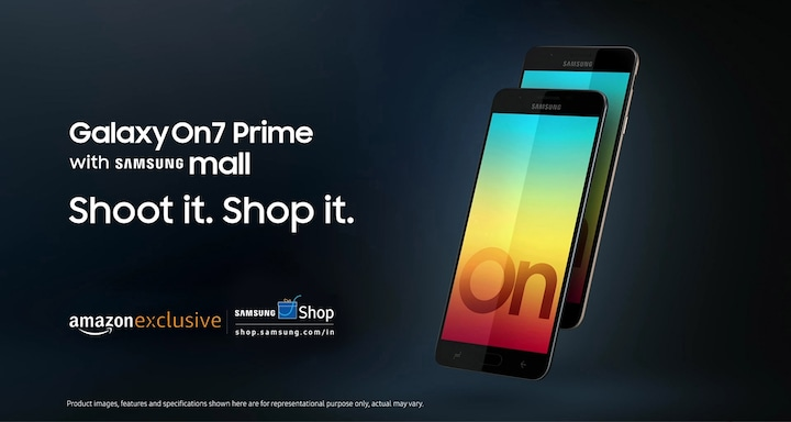 Galaxy On7 Prime with Samsung Mall
