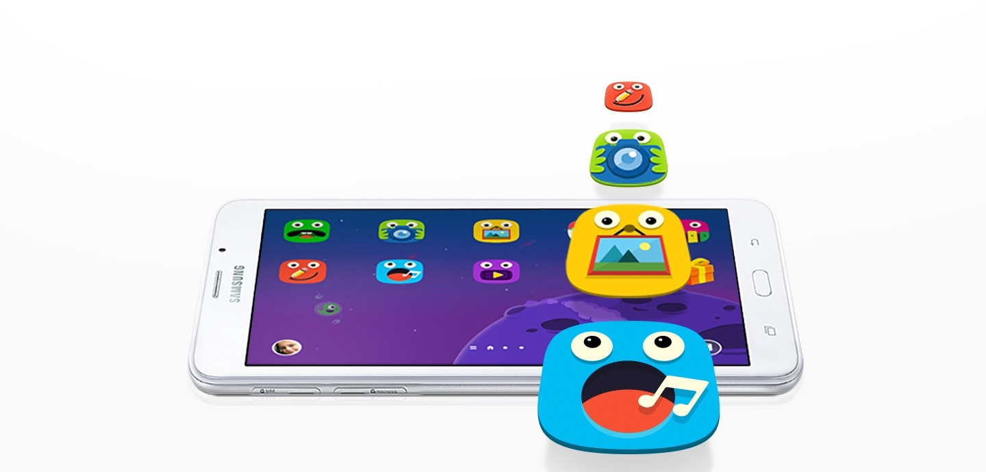 Latest Kids Mode in Samsung 7 inch tablet Tab A 7.0