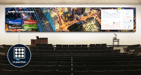 Engage Customers through a Seamless Viewing Experience and Flexible, Large-Scale Screen