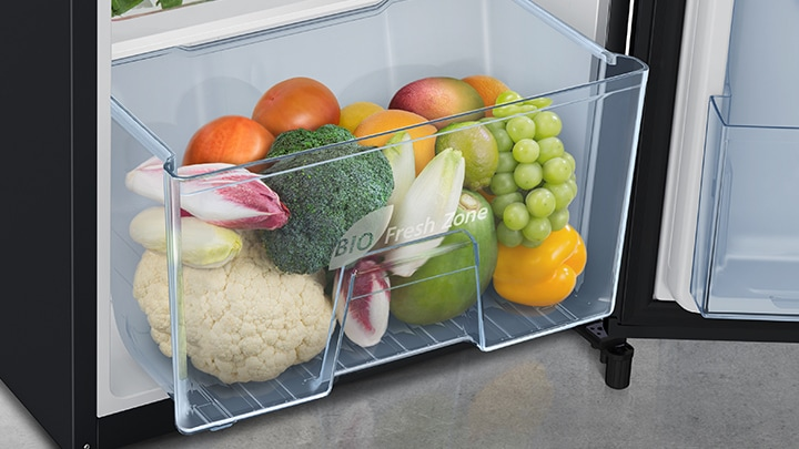 1 door Refrigerator Large Capacity Vege Box