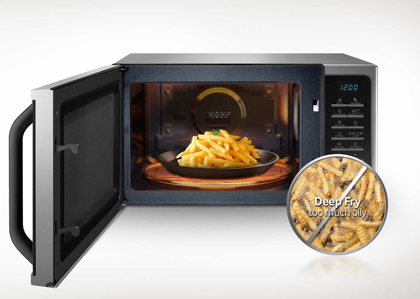 Microwave That Cooks Healthy Fried Food