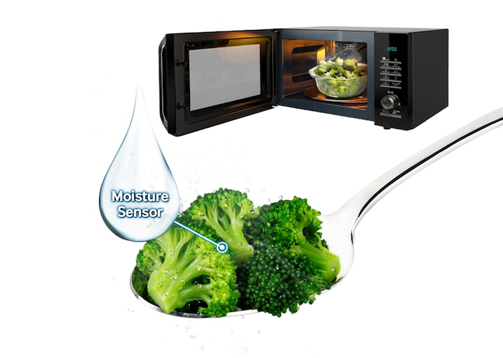 Microwave that supports healthy cooking